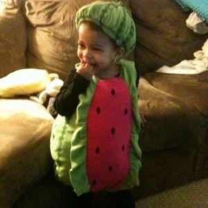 Adorable watermelon costume 12-18mo TCP